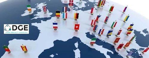 DGE Europe Map | Mascherpa.s.p.a